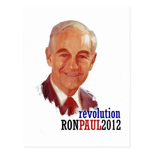 Ron Paul 2012 for President Postcard