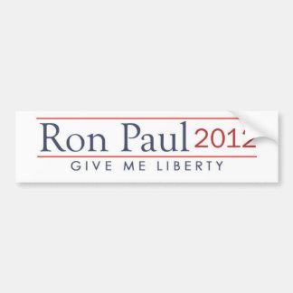 ron_paul_2012_give_me_liberty bumper sticker