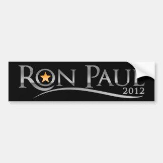 Ron Paul 2012 Goldstar Bumper Sticker