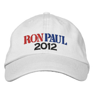 Ron Paul 2012 Gorros Bordados