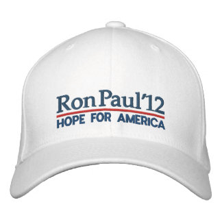 Ron Paul 2012 Gorras Bordadas