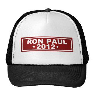 Ron Paul 2012 Gorro De Camionero