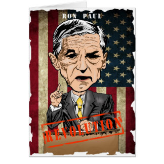 RON PAUL 2012 GREETING CARDS