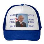 Ron Paul 2012 Hats