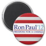 Ron Paul 2012 Imán Para Frigorífico