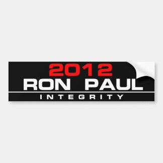 RON PAUL 2012 INTEGRITY BUMPER STICKER