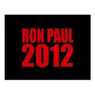 RON PAUL 2012 (intrépido) Tarjetas Postales