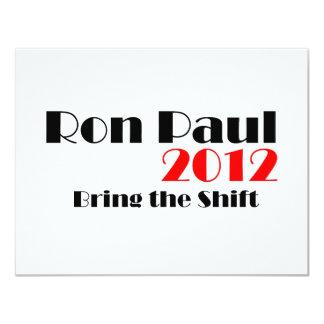 Ron Paul 2012 Invitacion Personal