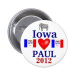 ron paul 2012 Iowa Pins