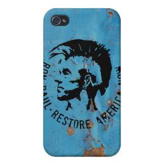 Ron Paul 2012 Cover For iPhone 4