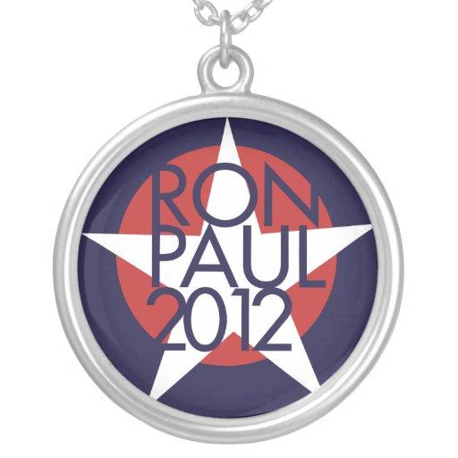 Ron Paul 2012 Joyeria Personalizada