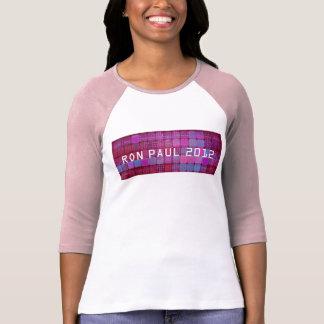Ron Paul 2012 Ladies artistic print Tshirts