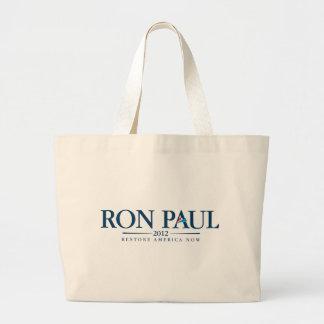 Ron Paul 2012 Large Tote Bag