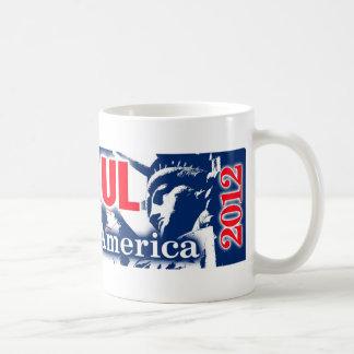 Ron Paul 2012 - Libertad para América Taza