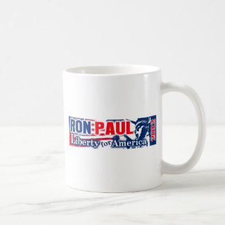 Ron Paul 2012 - Liberty for America Classic White Coffee Mug