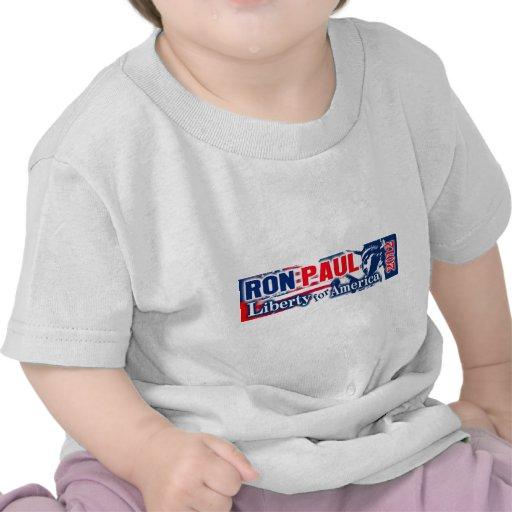 Ron Paul 2012 - Liberty for America Tee Shirt