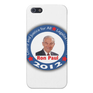 Ron Paul 2012: Liberty & Justice for All! iPhone 5 Covers