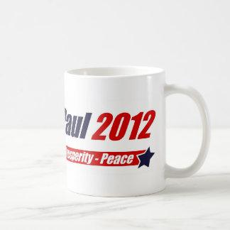 Ron Paul 2012: Liberty, Prosperity, Peace Coffee Mug