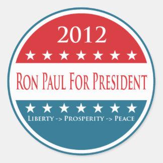 Ron Paul 2012 LPP Sticker