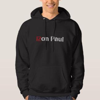 Ron Paul 2012 Male Hooded Sweatshirt