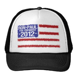 ron paul 2012 mesh hats