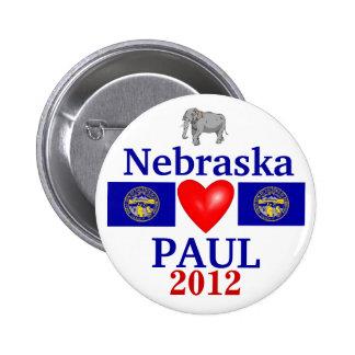 Ron Paul 2012 Nebraska Button