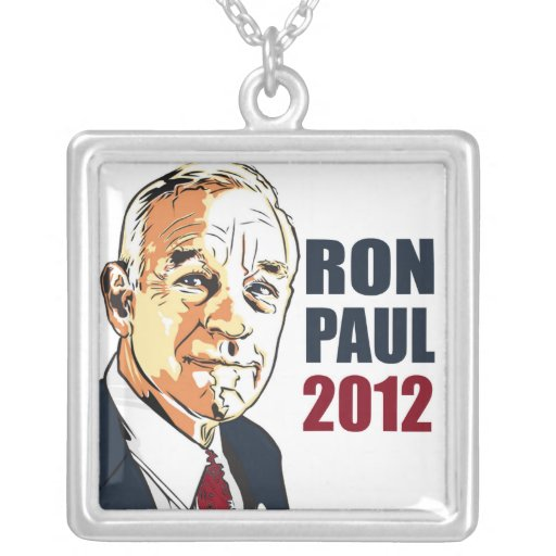 Ron Paul 2012 Personalized Necklace