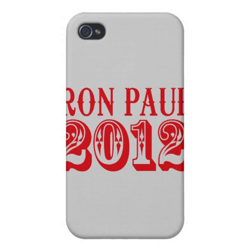 RON PAUL 2012 (occidental) iPhone 4 Protector