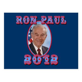 Ron Paul 2012 para el presidente los E.E.U.U. Postales