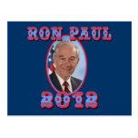 Ron Paul 2012 para el presidente los E.E.U.U. Tarjeta Postal