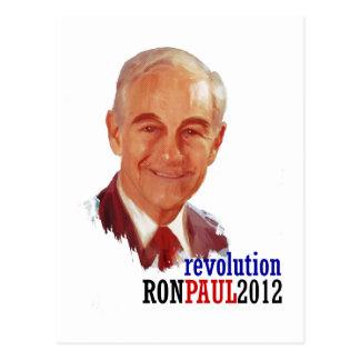 Ron Paul 2012 para el presidente Postal