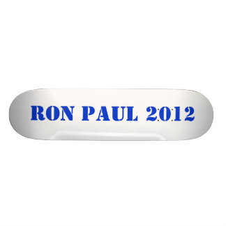 RON PAUL 2012 PATINES PERSONALIZADOS