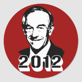 Ron Paul 2012 Etiqueta