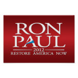 Ron Paul 2012 - pequeña muestra Posters