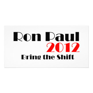 Ron Paul 2012 Personalized Photo Card
