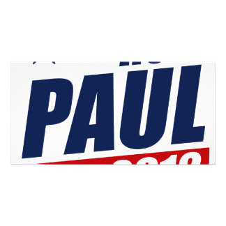 RON PAUL 2012 PHOTO GREETING CARD