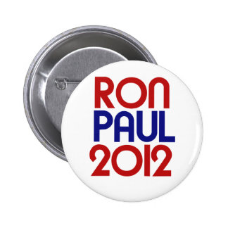 Ron Paul 2012 Pinback Button