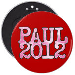 Ron Paul 2012 PINK Button