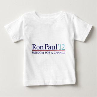 Ron Paul 2012 Playera De Bebé