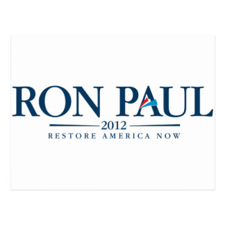 Ron Paul 2012 Post Cards