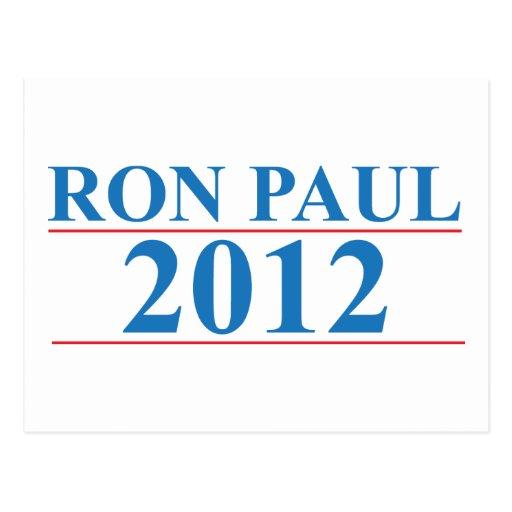 Ron Paul 2012 Postales