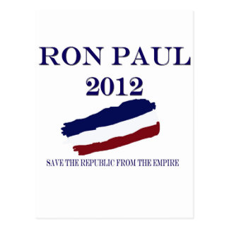 Ron Paul 2012 Postcard