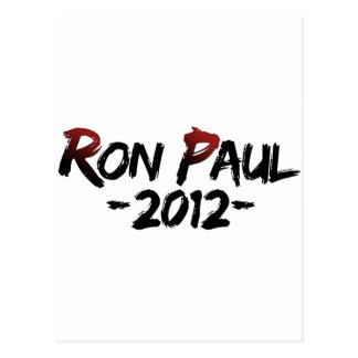 Ron Paul 2012!!! Postcard