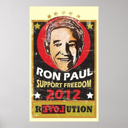 Ron Paul 2012 Póster