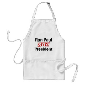 Ron Paul 2012 president Adult Apron