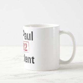 Ron Paul 2012 president Coffee Mug