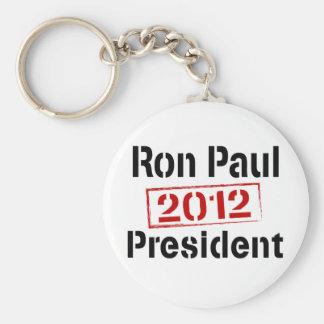 Ron Paul 2012 president Keychain