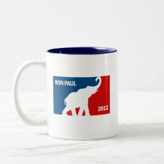 RON PAUL 2012 PRO Two-Tone COFFEE MUG