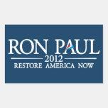 RON PAUL 2012 RECTANGULAR ALTAVOCES