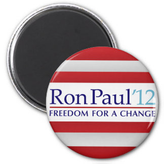 Ron Paul 2012 Refrigerator Magnet